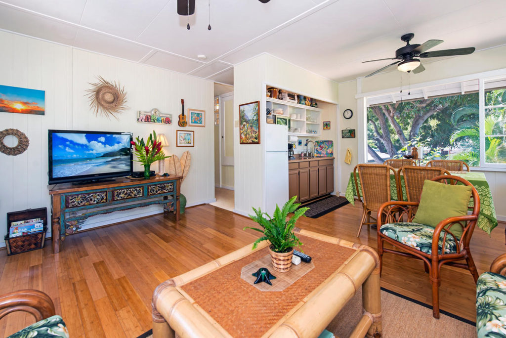 Lt Living Room 3 Lanikai Beach Rentals